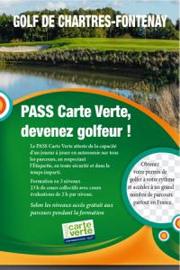 Index Carte Verte Golf.Le Pass Carte Verte Golf De Chartres Fontenay
